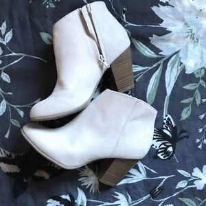 Zippered Ankle Boots
